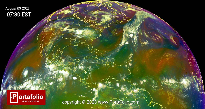 Hemisferio Norte - AirMass -
